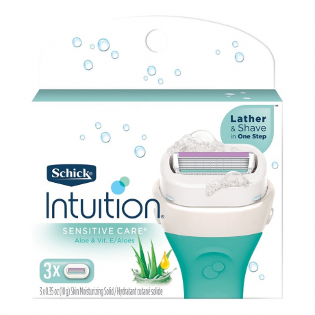 Сменные лезвия Schick Intuition Sensitive Care