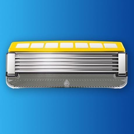 Сменные лезвия Schick Hydro 5 Custom Energize (4 картриджа)