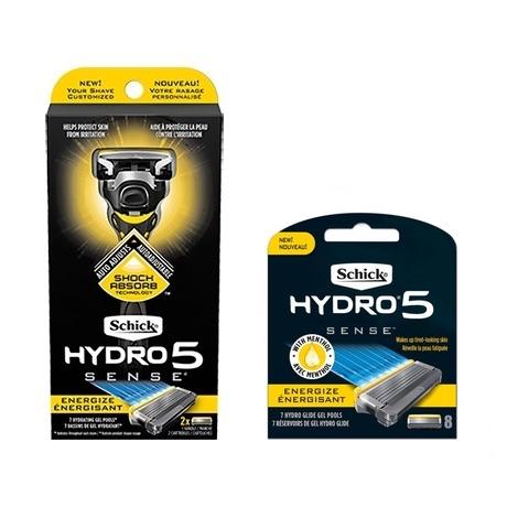 Бритва Schick Hydro 5 Custom Energize (1 бритва + 8 картриджей)