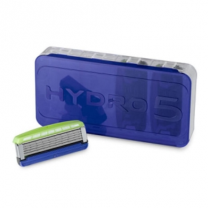 Лезвия Schick Hydro 5 Premium Sensitive