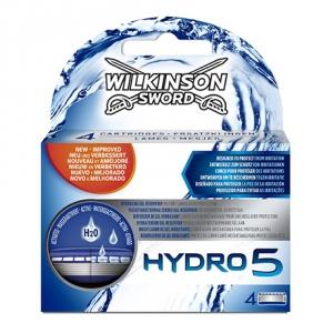 Сменные лезвия Wilkinson Sword Hydro 5 (4 картриджа)