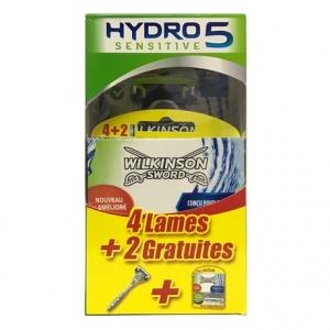 Бритва Wilkinson Sword Hydro 5 Sensitive (1 бритва + 6 картриджей)