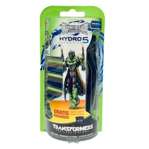 "Набор Wilkinson Sword Hydro 5 Sensitive ""Transformers"" (1 бритва + 4 картриджа)"