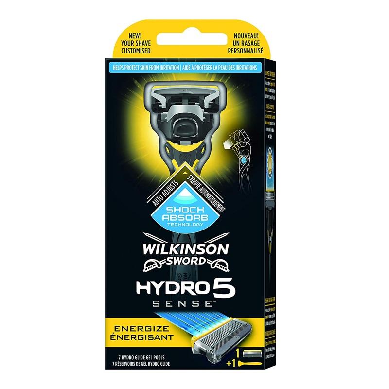 Бритва Wilkinson Hydro 5 Sense Energize (1 бритва + 2 картриджа)