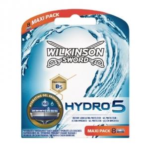 Сменные лезвия Wilkinson Sword Hydro 5 (8 картриджей)