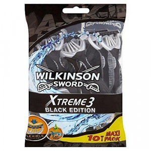 Одноразовые бритвы Wilkinson Sword Xtreme 3 Black (10 бритв)