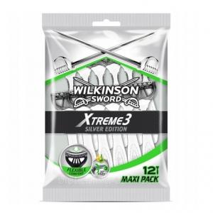 Одноразовые бритвы Wilkinson Sword Xtreme 3 Silver Edition (12 бритв)