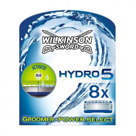 Сменные лезвия Wilkinson Hydro 5 Groomer&Power Select (8 картриджей)