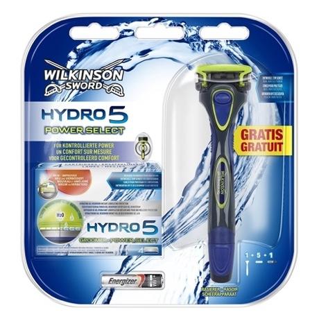 Набор Wilkinson Sword Hydro 5 Power Select (1 бритва + 4 картриджа)