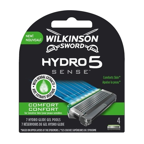 Сменные лезвия Wilkinson Hydro 5 Sense Comfort (4 картриджа)