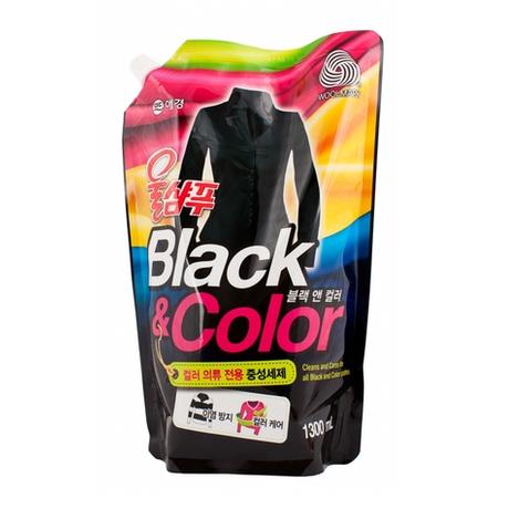 Жидкость для стирки Aekyung Wool Shampoo Black&Colors (Черное/Цветное)