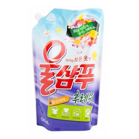 Жидкость для стирки Aekyung Wool Shampoo Fresh